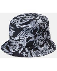 Carhartt Wip Tiki Mono Bucket Hat - Black