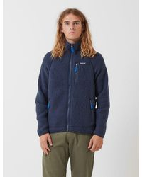 Patagonia Retro Pile Jacket - Blue