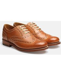 Grenson - Womens Rose Brogue Shoes - Lyst