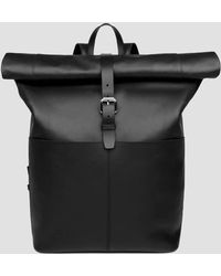 Sandqvist | Antonia Rolltop Backpack (leather) | Lyst