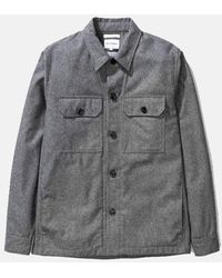 Norse Projects Kyle Jacket (wool) - Grey