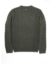 Dickies - Maple City Cable Knit Jumper - Lyst