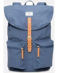 Sandqvist Roald Ground Backpack - Blue