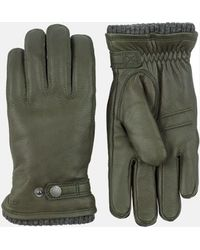 Hestra Utsjö Sport Gloves (leather) - Green