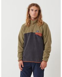 Patagonia Light Weight Synchilla Snap-t Pullover - Green