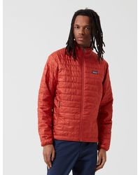 Patagonia Nano Puff Jacket - Red