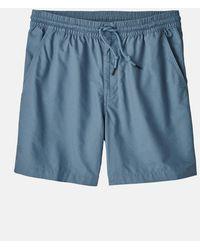 Patagonia All-­wear Hemp Volley Shorts - Blue