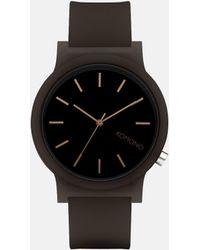 Komono Mono Watch - Black