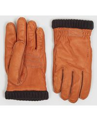 Hestra Deerskin Primaloft Rib Gloves - Multicolour
