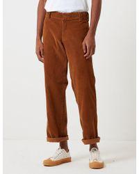Dickies 873 Cord Work Pant (slim Straight) - Brown