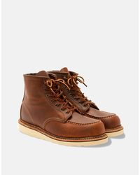 """Red Wing Heritage 6"""" Moc Toe Boots (1907) - Brown"""