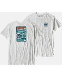 Patagonia Cosmic Peaks Organic T-shirt - White