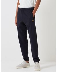 Carhartt Wip Chase Sweat Pant - Blue
