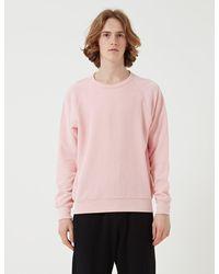 Les Basics Le Loopback Sweatshirt - Pink