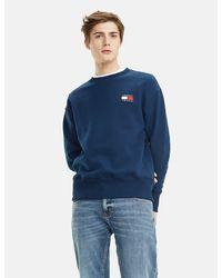 Tommy Hilfiger Logo Sweatshirt - Blue