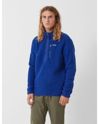 Patagonia Retro Pile Fleece Pullover - Blue