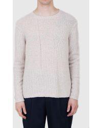 Folk - Interference Knit Sweatshirt - Lyst