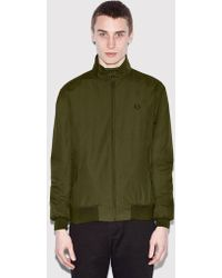Fred Perry - Re-issues Harrington Jacket (made In Uk) - Lyst