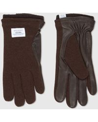 Norse Projects X Hestra Svante Sport Gloves (leather) - Brown