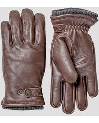 Hestra Utsjö Sport Gloves (leather) - Brown