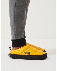 The North Face Nse Tent Slippers Iii - Yellow