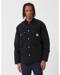 Carhartt Wip Og Chore Coat - Black