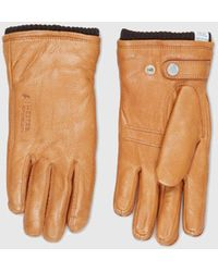 Norse Projects - X Hestra Utsjö Sport Gloves (leather) - Lyst