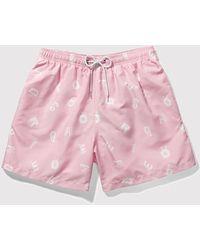 Boardies - Alpha Drawstring Swim Shorts (short Length) - Lyst