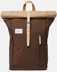 Sandqvist Dante Roll Top Backpack - Multicolor