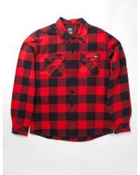 Dickies - Sacramento Plaid Shirt - Lyst
