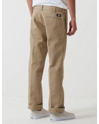 Dickies 873 Work Pant (slim Straight) - Natural