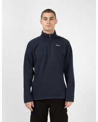 Patagonia Better Sweater® 1/4-zip Fleece New Navy - Blue