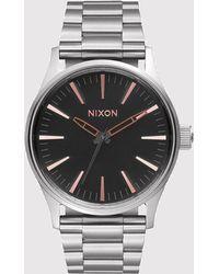 Nixon - Sentry 38 Ss Watch - Lyst