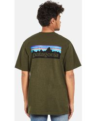 Patagonia P-6 Logo Responsibili-tee T-shirt - Brown