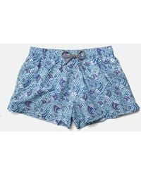 Boardies Wavey Dayz Shortie Swim Shorts - Blue