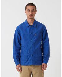 Le Laboureur Cotton Work Jacket - Blue