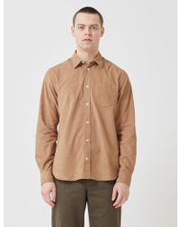 Norse Projects Osvald Corduroy Shirt - Natural