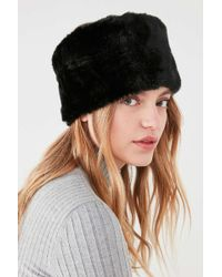 Urban Outfitters - Faux Fur Headband - Lyst