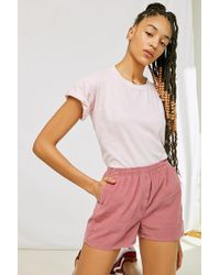 Urban Outfitters - Urban Renewal Recycled Corduroy Pull-on Short - Lyst