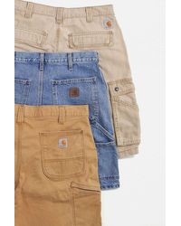 Urban Renewal Vintage Carhartt Shorts - Blue
