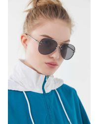 3496313265 Urban Outfitters - Presley Rimless Aviator Sunglasses - Lyst