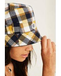 BDG - Reversible Check Bucket Hat - Lyst