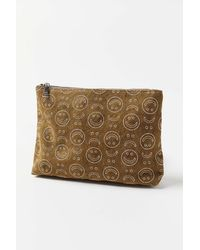 Urban Outfitters Uo Embroidered Icon Pouch - Green
