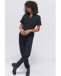 BDG Lizzy Coverall Jumpsuit - Multicolor