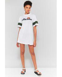 Ellesse Tifa T-shirt Dress - White
