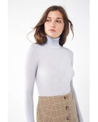 Out From Under Theresa Turtleneck - Blue