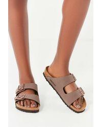 Birkenstock - Birkenstock Arizona Birkibuc Sandal - Lyst