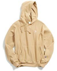 Champion Champion Uo Exclusive Reverse Weave Hoodie Sweatshirt - Natural