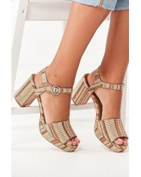 Urban Outfitters - Sienna Rattan Heel - Lyst