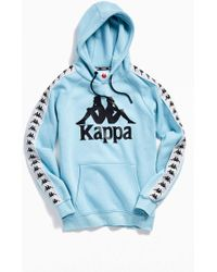 d4423cb7 Kappa Taped Hurtado Hoody in Gray for Men - Save 69% - Lyst